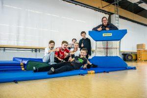 Schulolympiade in der Sporthalle Pfalzgrafenweiler